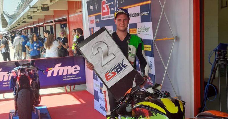 Primer podio en el CEV RFME open 600!!